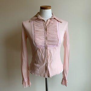 Vintage Casting sheer blouse